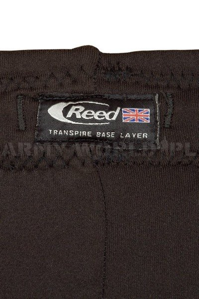 Winter Thermoactive Underpants Reed British Army Black Original Used