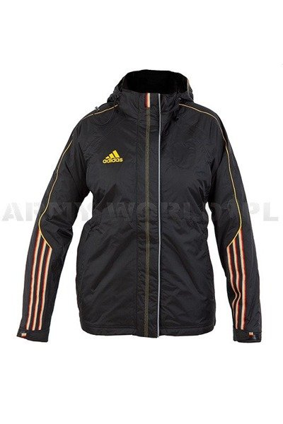 Winter Women's Jacket Black Adidas German National Team Original  Demobil