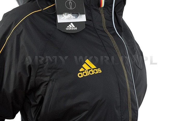 Winter Women's Jacket Black Adidas German National Team Original New