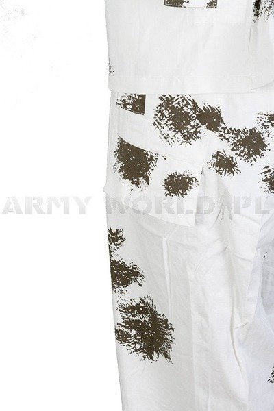 Winter masking - Snowy camouflage - Set - Jacket+Trousers Mil-tec New