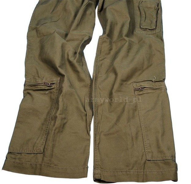 Women's Cargo Pants Pilot Type Nyco Oliv Mil-tec New