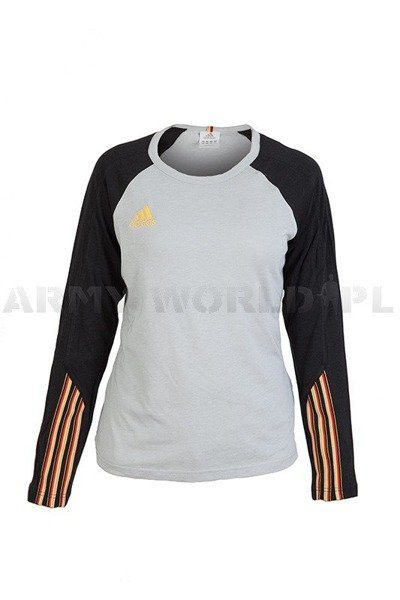Women's Shirt German National Team Grey Original Demobil