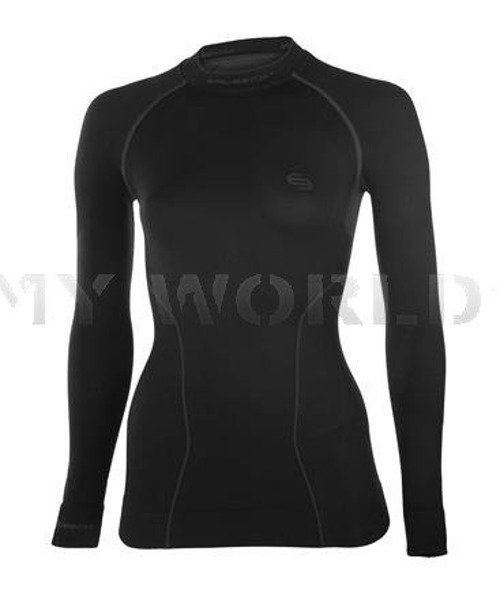 Women's Shirt Thermo BRUBECK New Model Black New