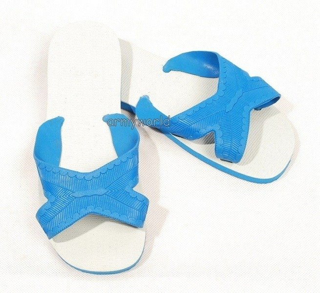 Women's Shower Flip flops Blue From Danish Army Original New