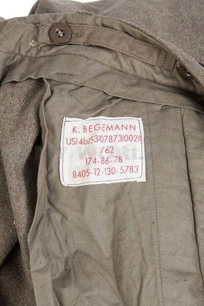 Wool Winter Pants Begemann/Sportra Bundeswehr Oliv Used