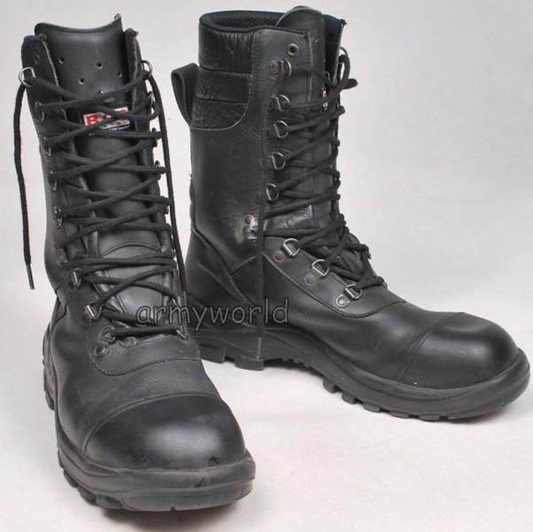 Working Boots Baltes High Black Demobil