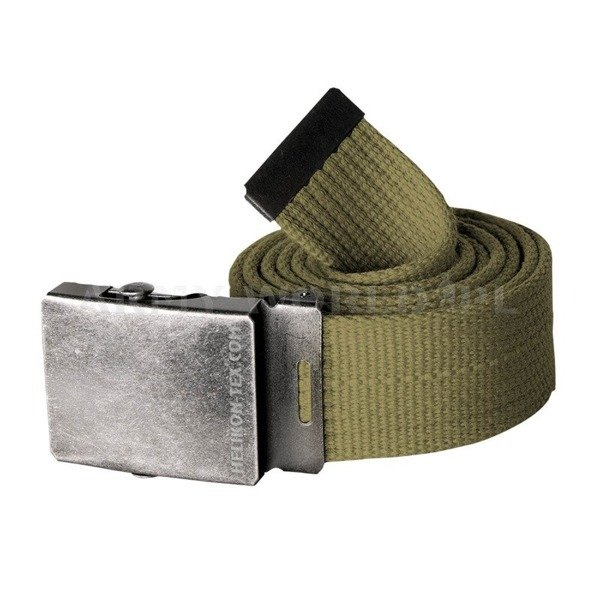 belt Canvas Helikon with metal buckle Oliv