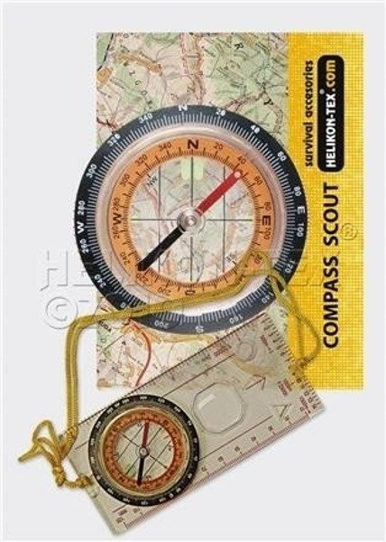touristic compass SCOUT Helikon-tex New