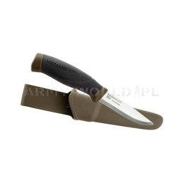Nóż Morakniv® Companion MG (S) - Stainless Steel - Olive Green