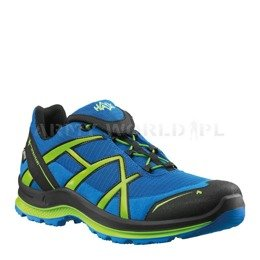 Buty Outdoorowe Black Eagle Adventure 2.0 Low Haix ® Art. Nr 330020 Gore-tex Niebiesko-Cytrusowe
