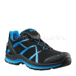 Buty Outdoorowe Black Eagle Adventure 2.0 Low Haix ® Art. Nr 330023 Gore-tex Czarno-Niebieskie