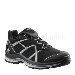 Buty Outdoorowe Black Eagle Adventure 2.0 Low Haix ® Art. Nr 330024 Gore-tex Czarno-Srebrne