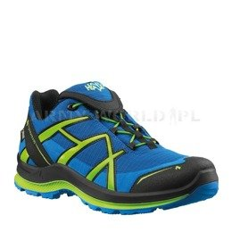 Buty Outdoorowe Damskie Black Eagle Adventure 2.0 Low Haix ® Art. Nr 330025  Gore-tex Niebiesko-Cytrusowe