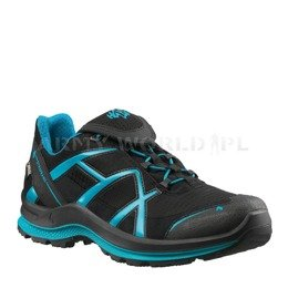 Buty Outdoorowe Damskie Black Eagle Adventure 2.0 Low Haix ® Art. Nr 330027 Gore-tex Czarno-Szmaragdowe
