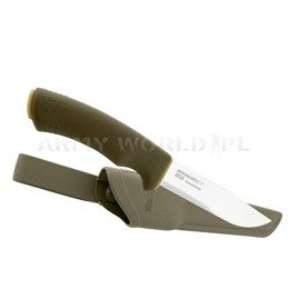 Nóż Morakniv® Bushcraft Forest - Stainless Steel - Olive Green Nowy