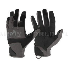 Rękawice Range Tactical Hard® - Helikon-Tex  - Czarne / Shadow Grey