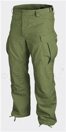 Spodnie Bojówki  SFU Special Forces Uniform Helikon-Tex PolyCotton Twill - Oliv