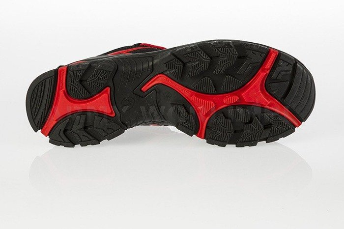Buty Robocze Haix ® BLACK EAGLE Safety 40 Low Gore-tex  Black/Red Art. Nr :610002 II Gatunek Nowe