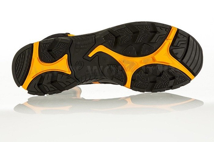 Buty Robocze Haix ® BLACK EAGLE Safety 40 Mid Gore-tex  Black/Orange Art. Nr :610017 II Gatunek Nowe