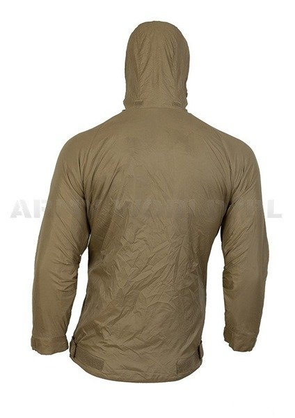 Kurtka Kangurka Softshell Lightweight Thermal PCS 190/110 Olive Brytyjska Demobil