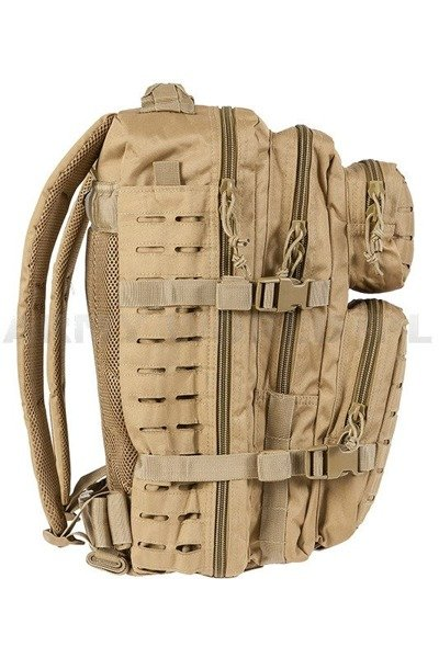 Plecak Model US Assault Pack LG LASER CUT Coyote Nowy