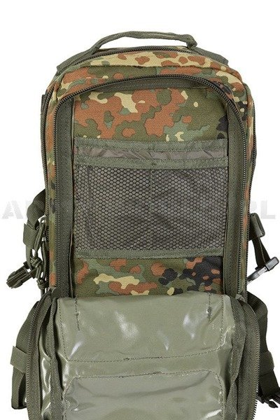 Plecak Model US Assault Pack LG LASER CUT Flecktarn Nowy