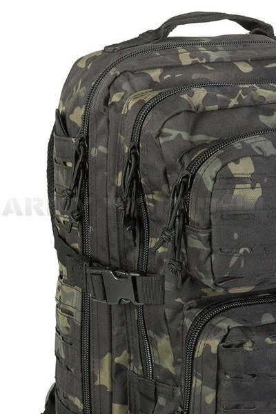 Plecak Model US Assault Pack LG LASER CUT Multit blk Nowy