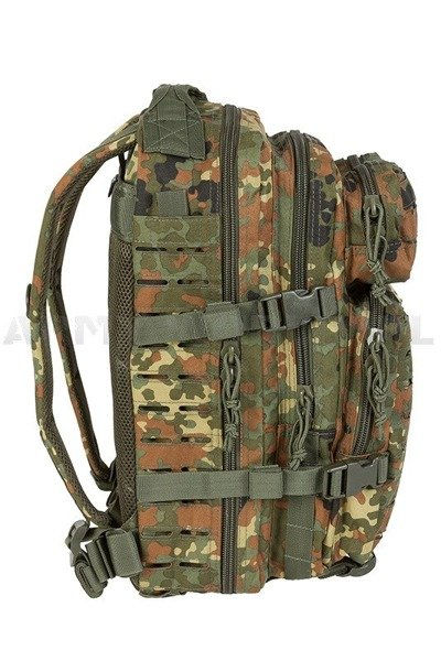 Plecak Model US Assault Pack SM LASER CUT Flecktarn Nowy