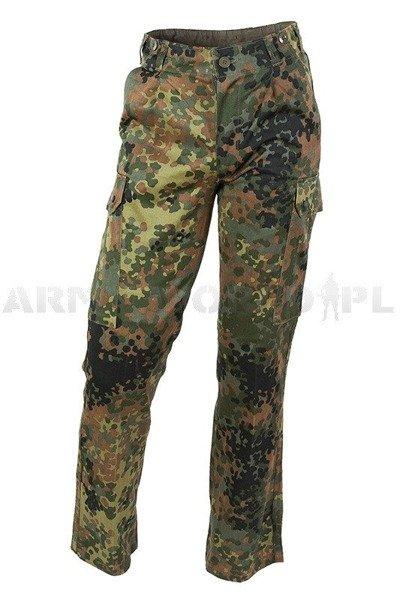 b5e81d79f36f7 Spodnie Wojskowe Flecktarn Bundeswehr Oryginał Demobil