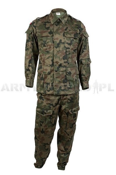 Polish Military Uniform Wz 93 127a Mon Set Shirt Pants