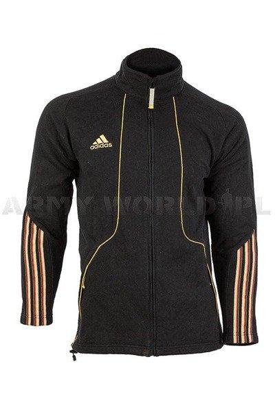 Bluza Męska Reprezentacji Sportowej Niemiec Czarna Oryginał