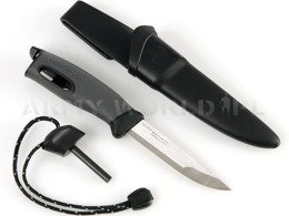 Fire Knife LIGHT MY FIRE with fire starter - black - original - new