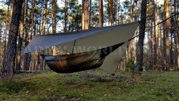Ultralight Tarp 3 x 3 m Bushmen Olive New