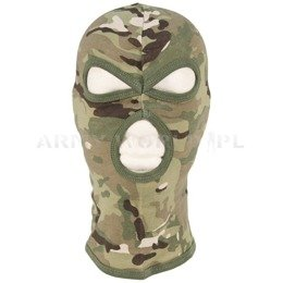 3-Hole Military Balaclava MFH Camogrom New