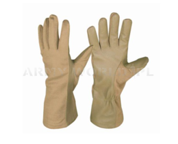 Aircrew Dutch Army Nomex Gloves Coyote Used