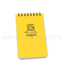 "All-Weather Notebook Rite in the Rain 3 x 5"" N°135 Yellow New"
