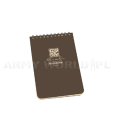 "All-Weather Notebook Rite in the Rain 4 x 6"" N°446 Flat Dark Earth New"