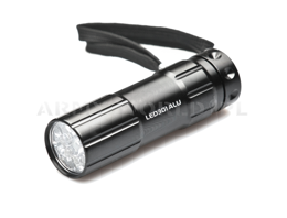 Aluminum Flashlight 9 LED Falcon Eye Mactronic New