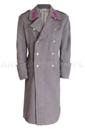 Austrian Army Overcoat Grey Genuine Military Surplus Used