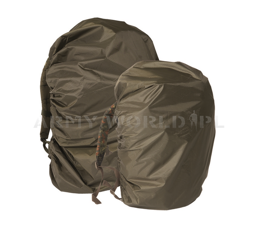 Backpack Cover Capacity 30-80 Liters Flecktarn / Tropentarn / Winter / Oliv Mil-tec New