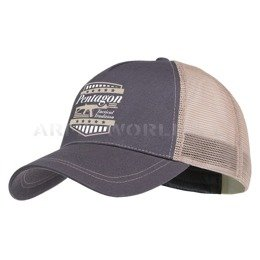 Baseball Cap Nomas ACR Pentagon Cinder Grey New
