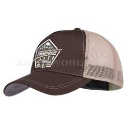 Baseball Cap Nomas Victorious Pentagon Terra Brown New