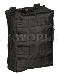 Belt Pouch Molle Mil-tec LG Black New