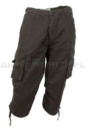 Bermuda Pants MiltecTrousers 3/4   US Air Combat Black