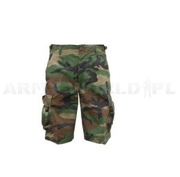 Bermuda Shorts Mil-tec Woodland New