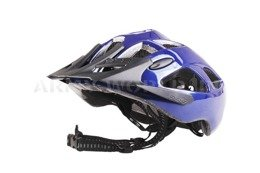 Bicycle Helmet BHE-34 ELBRUS Blue New