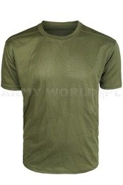 British Army Thermoactive T-shirt Coolmax Olive  Genuine Military Surplus Used II Grade