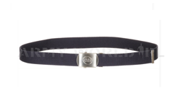 British Army Webbing Belt ISS Navy Blue Original Military Surplus New