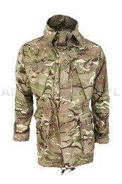 British Military Parka Jacket Windproof Nyco MTP (Multi Terrain Pattern) Original New