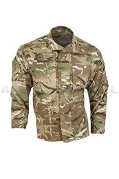 British Military Shirt With Stand-up Collar MTP Warm Weather (Multi Terrain Pattern) Original New